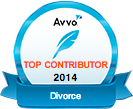 AVVO Top Contributor Divorce