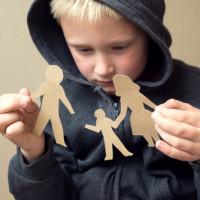 Boys parents divorced