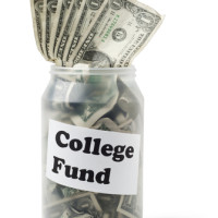Masons jar -college fund