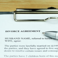 A document for child support costs