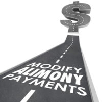 Road that reads alimony payments