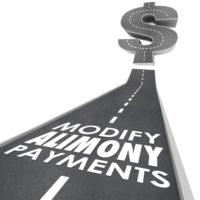 Modify alimony payments