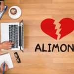 Heart broken with alimony sign