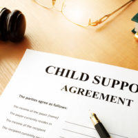 a doc that reads child support