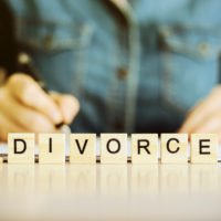 Blocks that read divorce