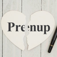 heart that reads prenup