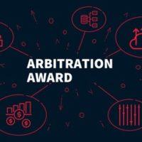 Arbitration Award sign
