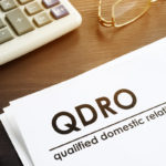 Documents about qualified domestic relations order (QDRO)