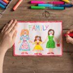 LGBT family drawing